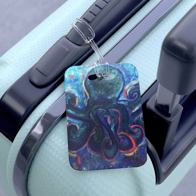 Bag Tag Luggage Tag Octopus Tag