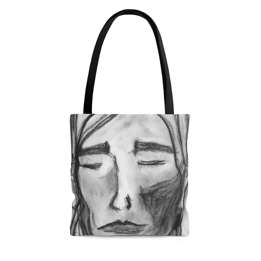 Charcoal Girl - Tote Bag - EF Kelly