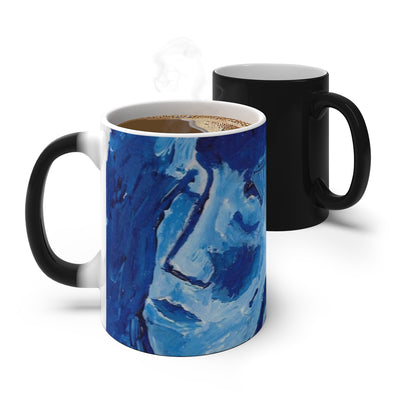 Blue Girl - Color Changing Mug - EF Kelly