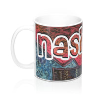 Nashville Electric Guitar Mug - 11 oz coffee gift