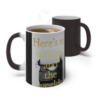 Here's to Writers - Color Changing Mug - EF Kelly