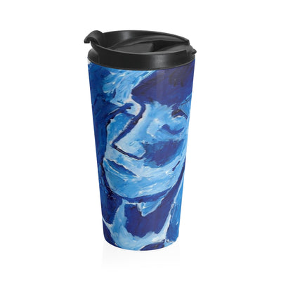 Blue Girl - Stainless Steel Travel Mug - EF Kelly