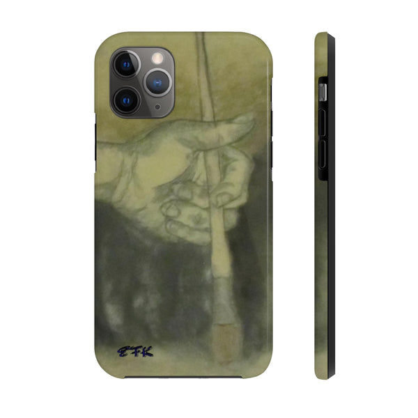 Phone Case, iPhone Case, iPhone 7 Case, iPhone 8 Case, iPhone 11 of Ready to Paint by EFK