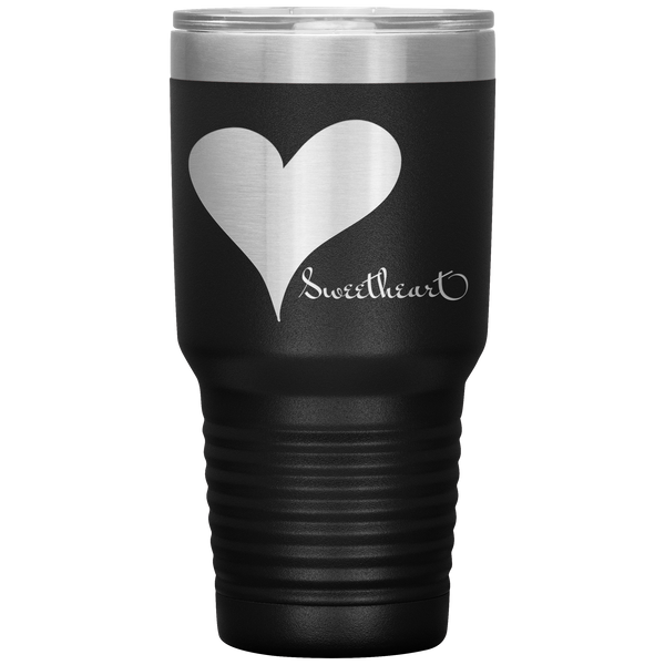 Big Heart Sweetheart 30oz Vacuum Tumbler