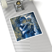 Mother's Love - Square Stickers - EF Kelly