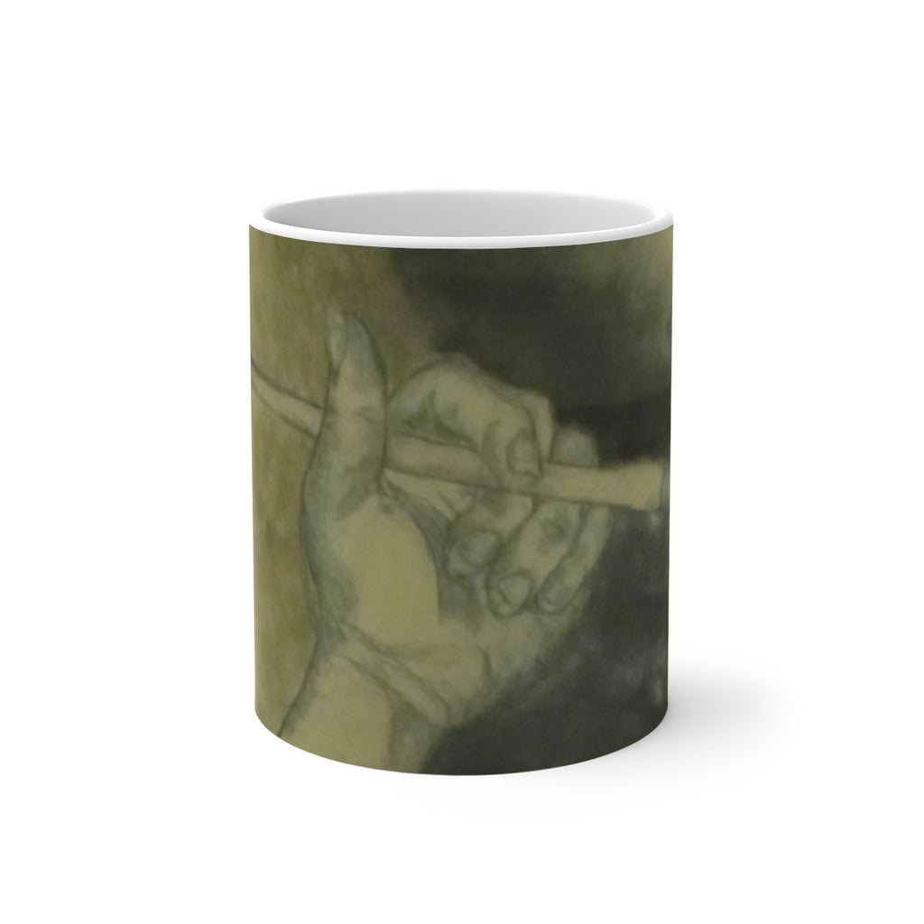 Ready to Paint - Color Changing Mug - EF Kelly Design