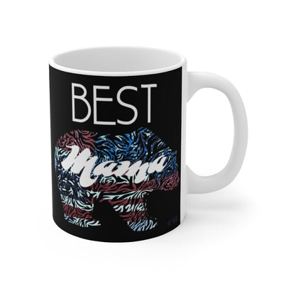 Best Mama Bear Mug, 11oz Mug, Mother's Day Mug, Mom Gift, Grandmother Gift, Mother's Day Gift