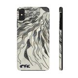 Phone Case, iPhone Case, iPhone 7 Case, iPhone 8 Case, iPhone 11 of Black and White Sun