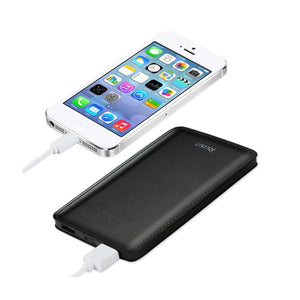 REIKO 15000MAH UNIVERSAL POWER BANK IN BLACK
