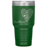 Sweetheart Love 30oz Vacuum Tumbler, Travel Mug