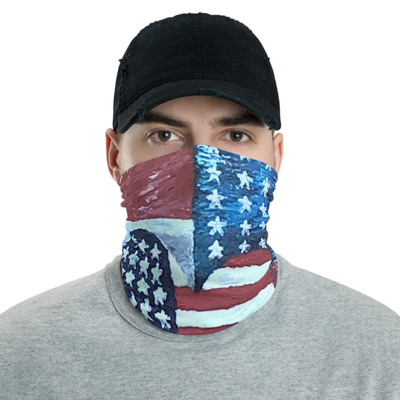 American Flag Love, American Flag, Face Shield, Headband, Bandana, Face Mask, Neck gaiter