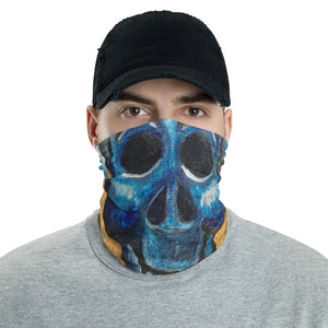 Happy Bones, Skull, Smiling Skull, Face Mask, Face Shield, Headband, Bandana, Neck gaiter