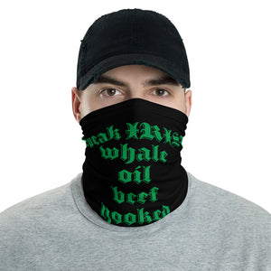 Whale Oil Beef Hooked, Funny, Face Mask, Face Shield, Headband, Bandana, Neck gaiter