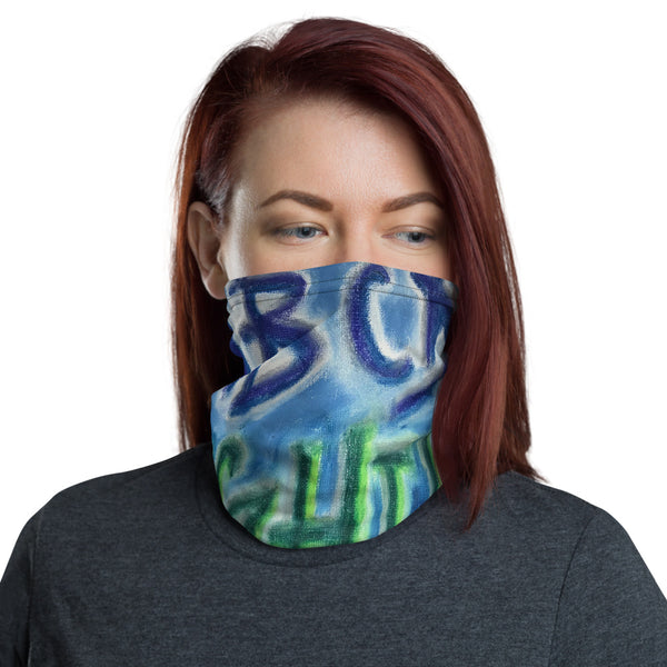 ABZ, ABC, Alphabet, Face Mask, Face Shield, Headband, Bandana, Neck gaiter
