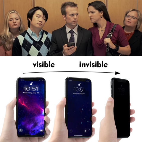 Anti-spy Privacy Glass for iPhone