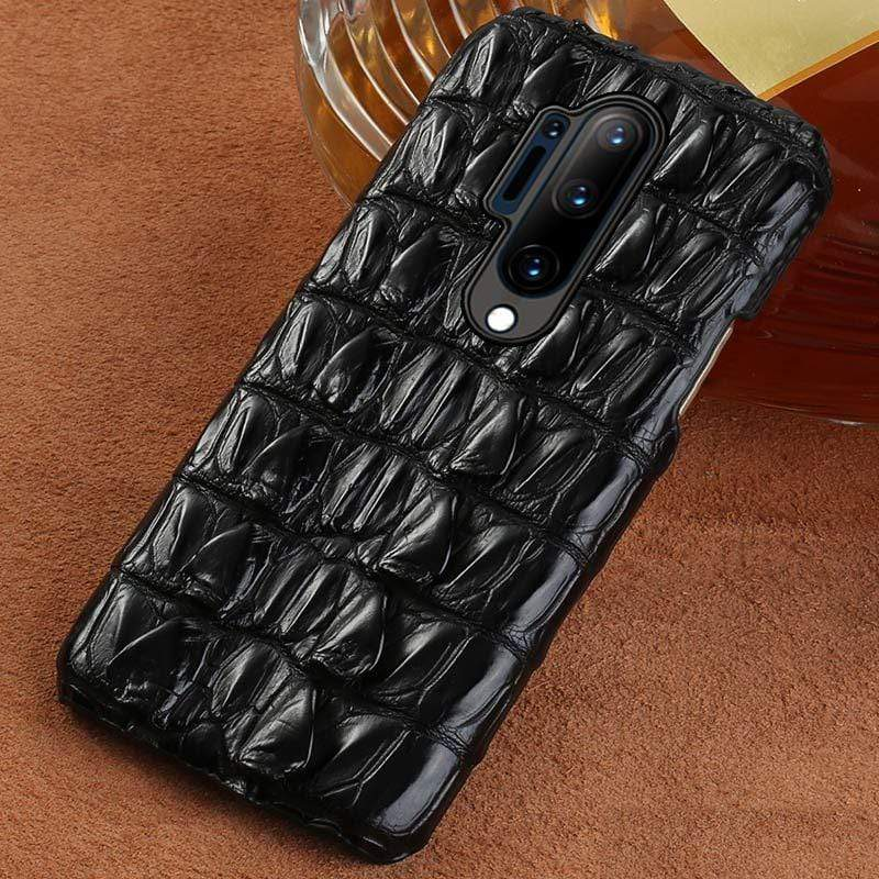 100% Pure Crocodile Leather Case For OnePlus - PhonesFashions