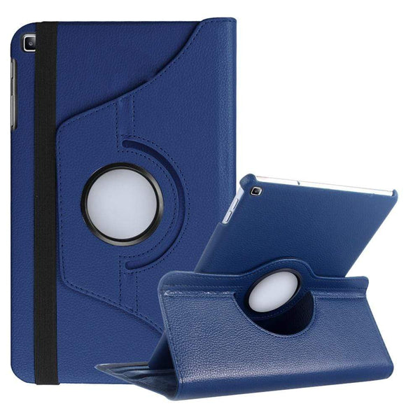 360 Rotating Case for Samsung Galaxy Tab, Leather Cover - PHONES FASHIONS