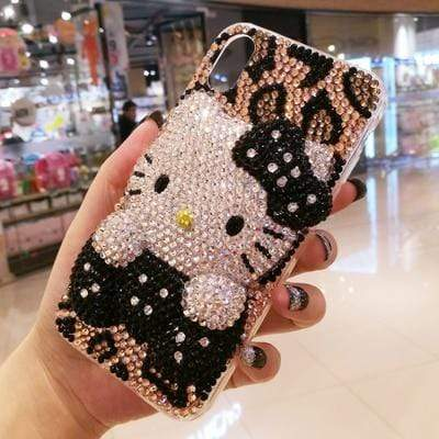 3D Bling Crystal cover for iphone - PhonesFashions