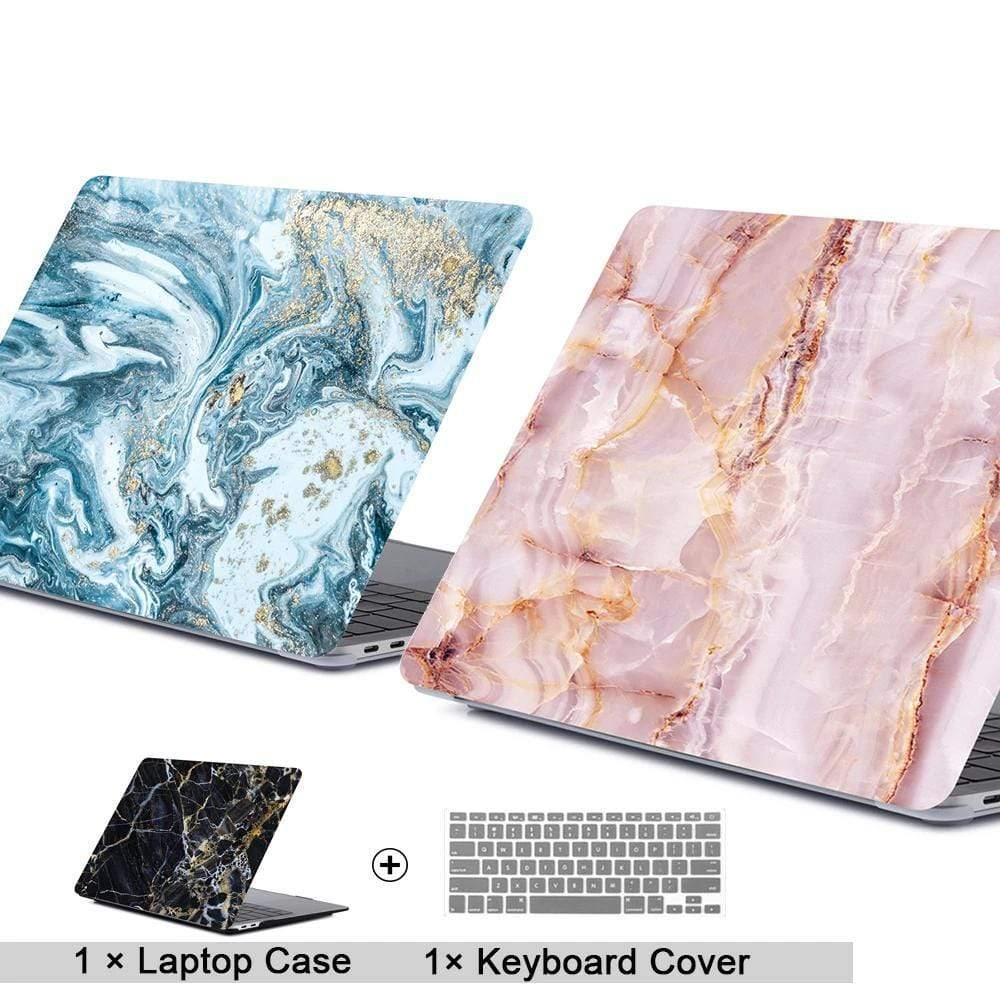 3D Marble Laptop Case For Apple MacBook - PHONES FASHIONS