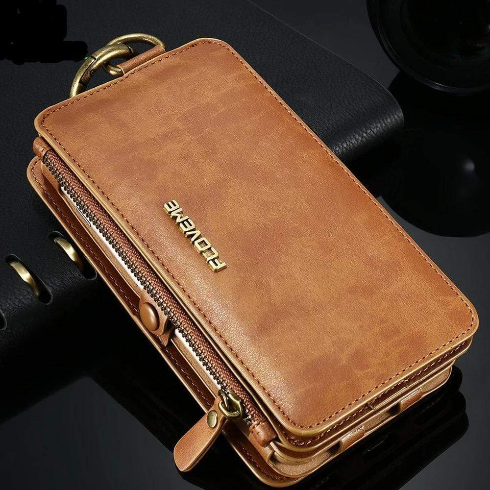 4 IN 1 LUXURY LEATHER iPhone Case - PHONES FASHIONS