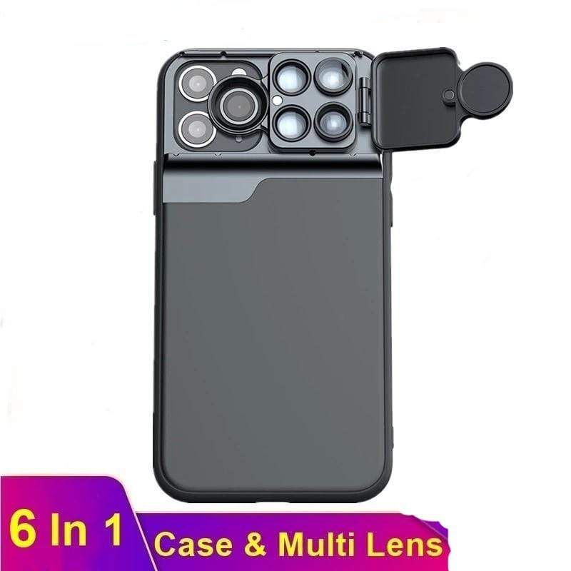 6 In 1 iPhone Camera Lens Case - PHONES FASHIONS