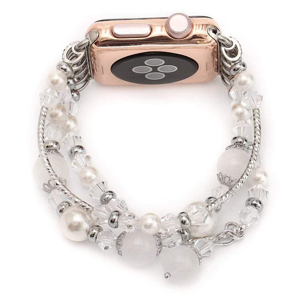 Agate Apple Watch Wrist Bracelet for Women - PHONES FASHIONS