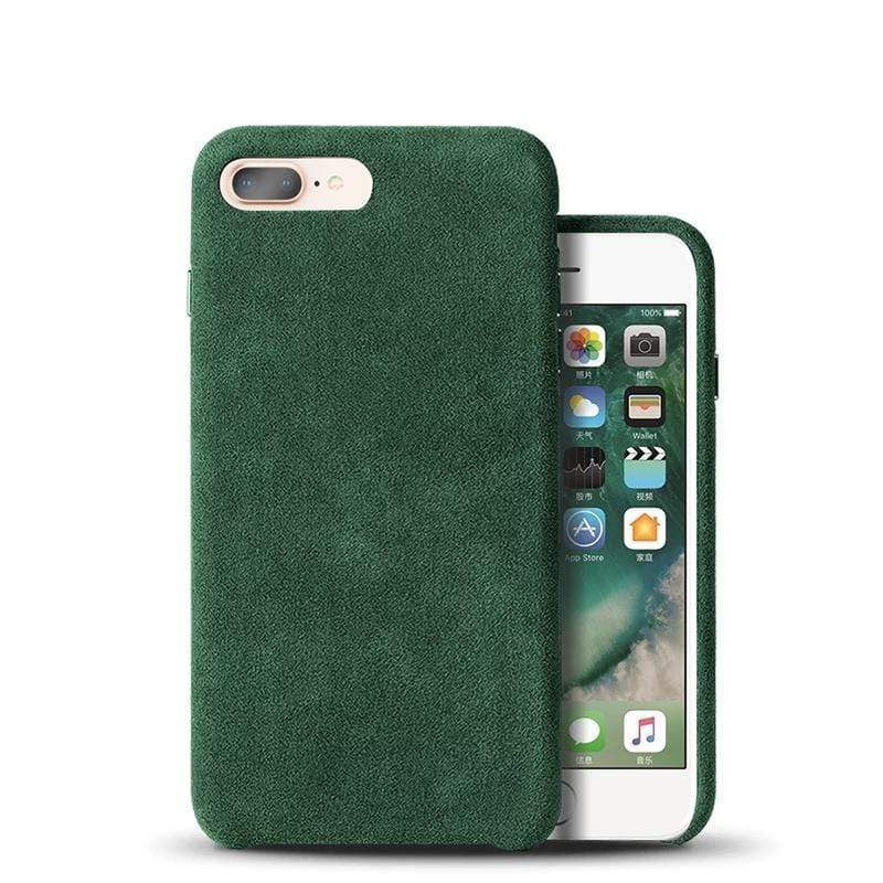ALCANTARA HANDCRAFTED ITALIANO CASE FOR IPHONE 7 & 8 - PHONES FASHIONS