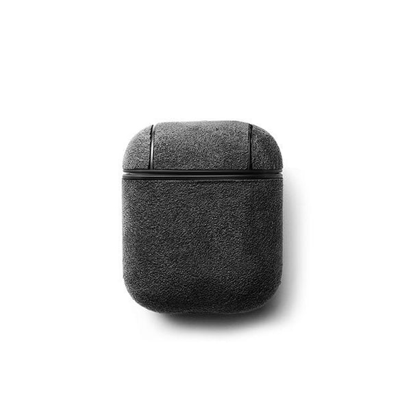 Alcantara Leather Airpods Case - PHONES FASHIONS