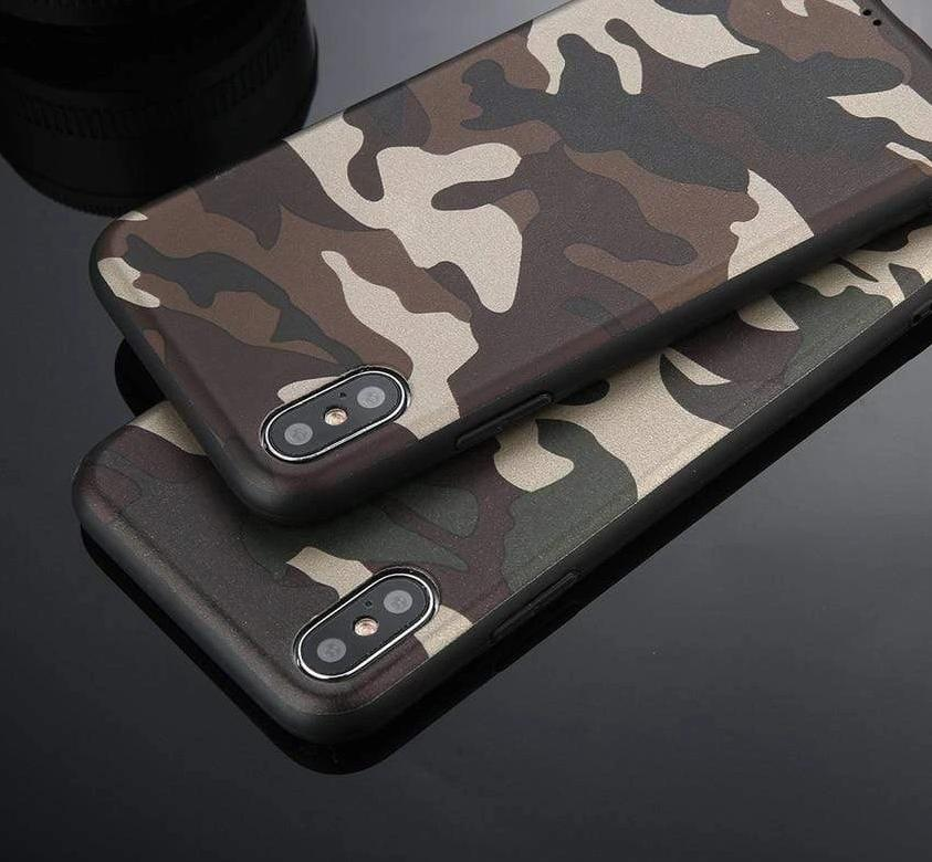 Army Green Camouflage Case For iPhone - PhonesFashions