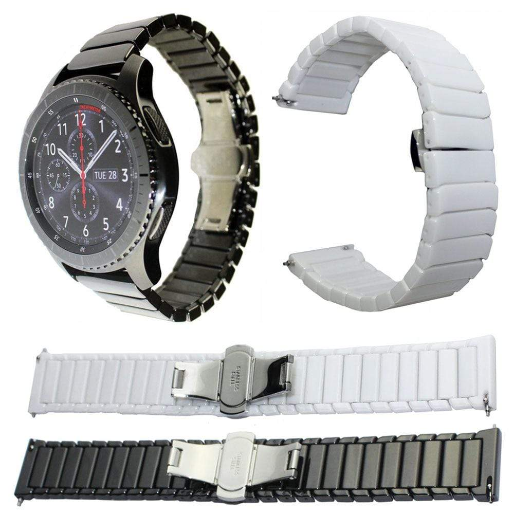 Ceramic Watch Band For Samsung Galaxy Watch (42MM & 46MM) - PHONES FASHIONS