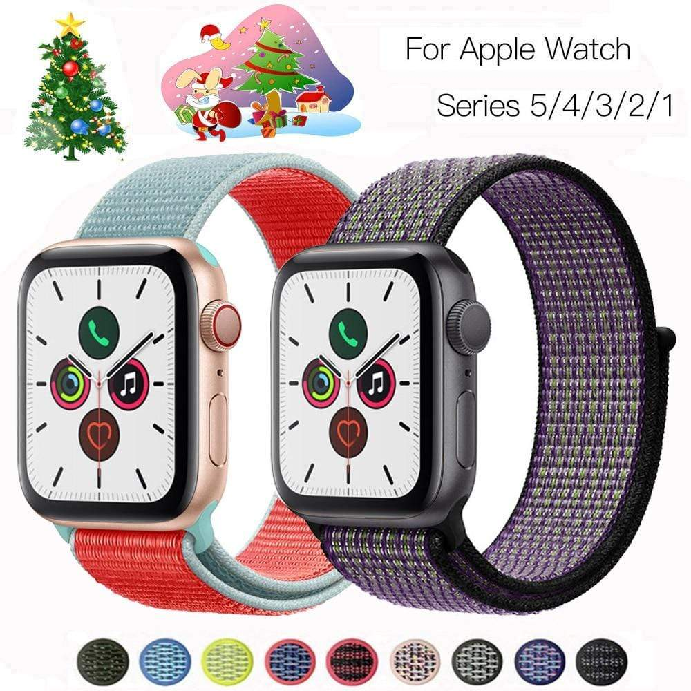 Colourful Strap for apple watch - PHONES FASHIONS