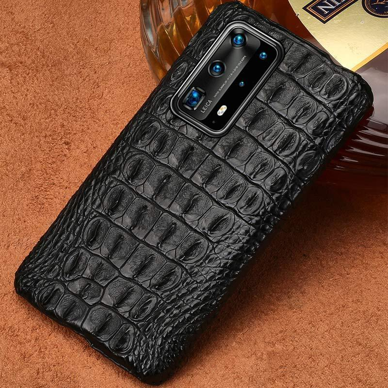 Crocodile Leather Case for Huawei - PhonesFashions