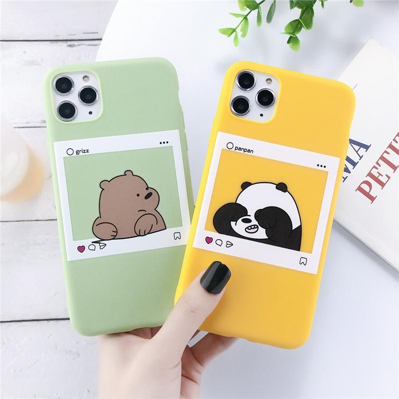 Cute Animal Bears Phone Case For iPhone - PhonesFashions
