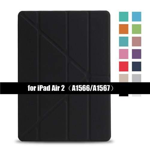 Flip Stand case for iPad - PhonesFashions