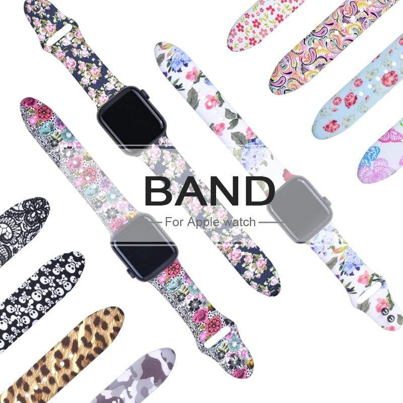 Flower Bands,Apple Watch Series 5 4 3 2 1 - PHONES FASHIONS
