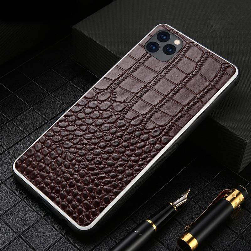 Genuine Cow Leather case for iPhone - PhonesFashions