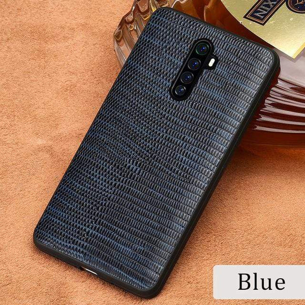 Genuine Cowhide Leather Case For Realme - PhonesFashions