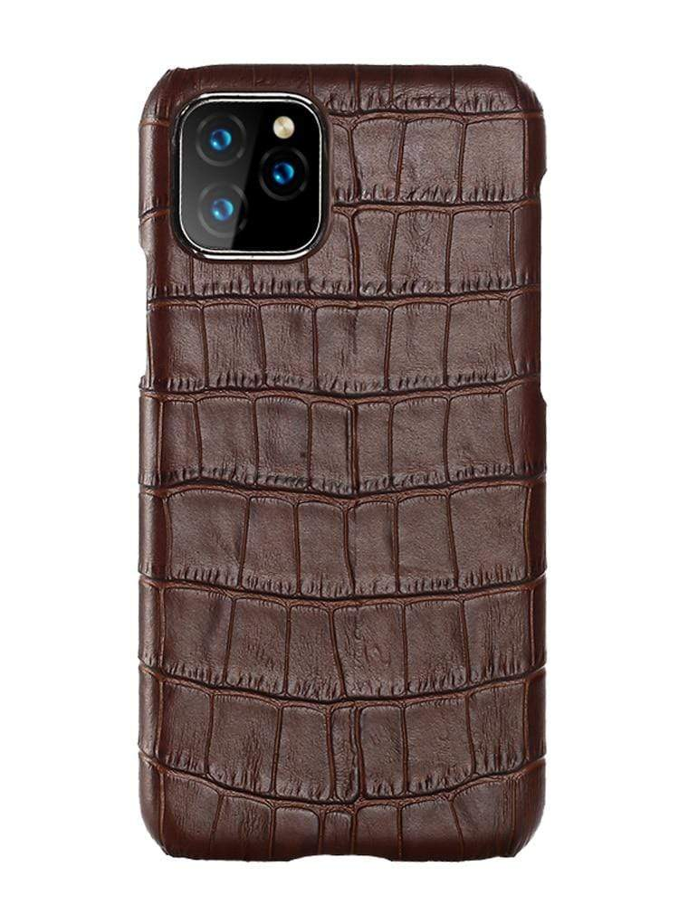Genuine Leather Case for iPhone - PhonesFashions