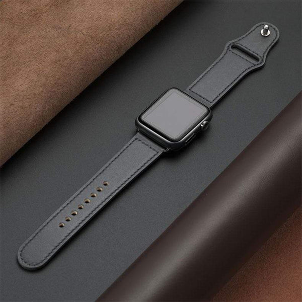 Genuine leather loop strap for apple watch - PhonesFashions