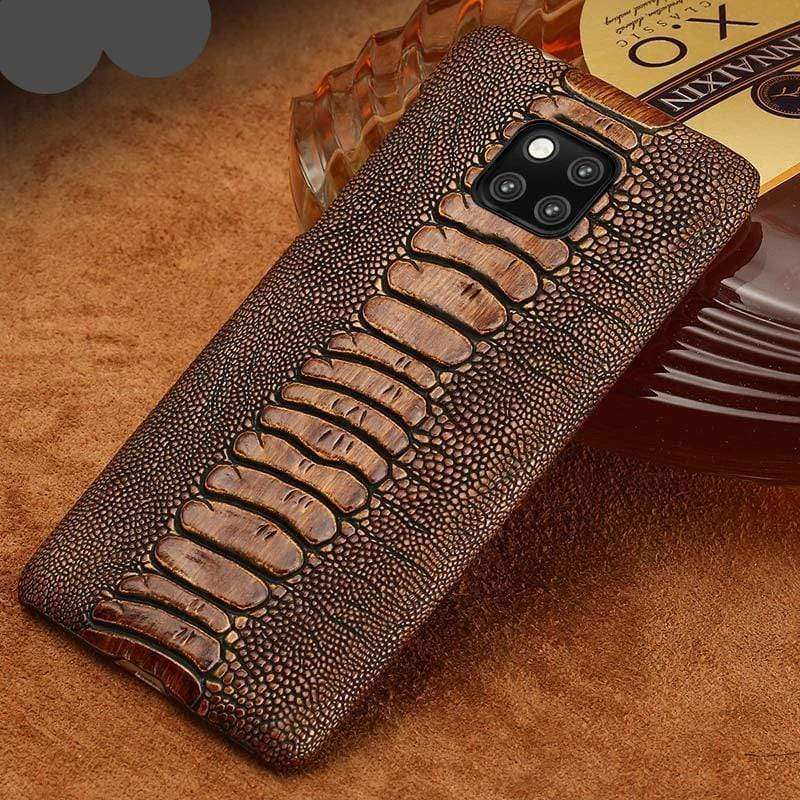 Genuine Leather Premium Phone Case for Huawei - PHONES FASHIONS