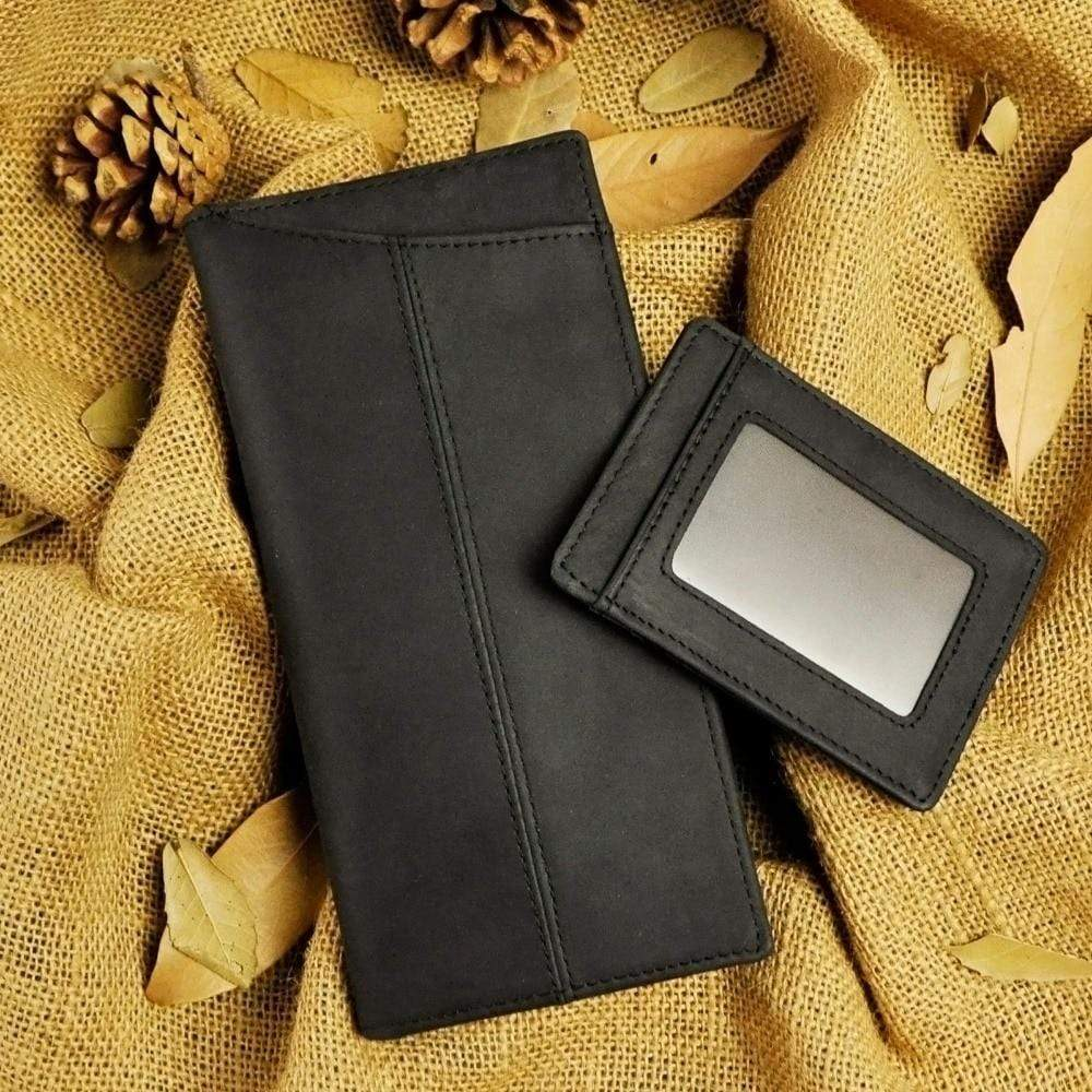 Genuine leather Wallet For Mobile & Cards - PHONES FASHIONS