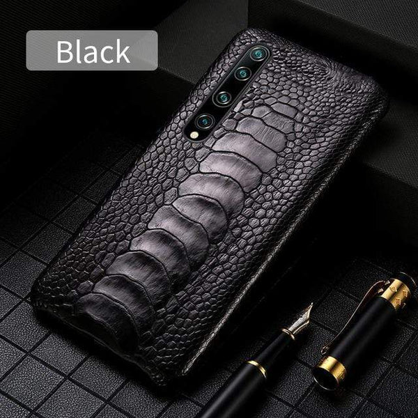 Genuine Ostrich Foot Leather case For Xiaomi - PhonesFashions