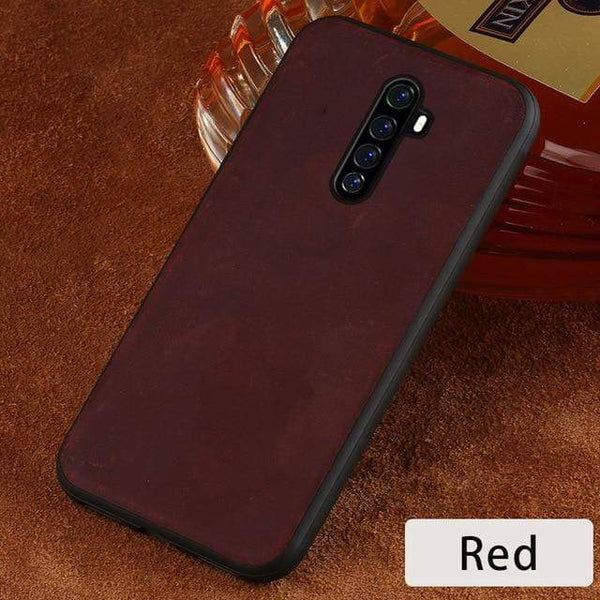 Genuine PULL-UP Leather Case for Realme - PhonesFashions