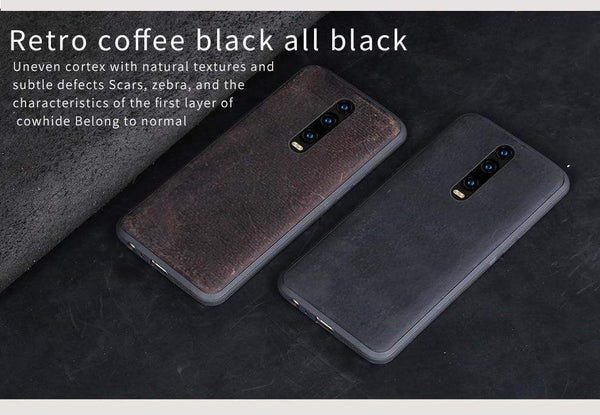 Genuine PULL-UP Leather case for Xiaomi - PhonesFashions