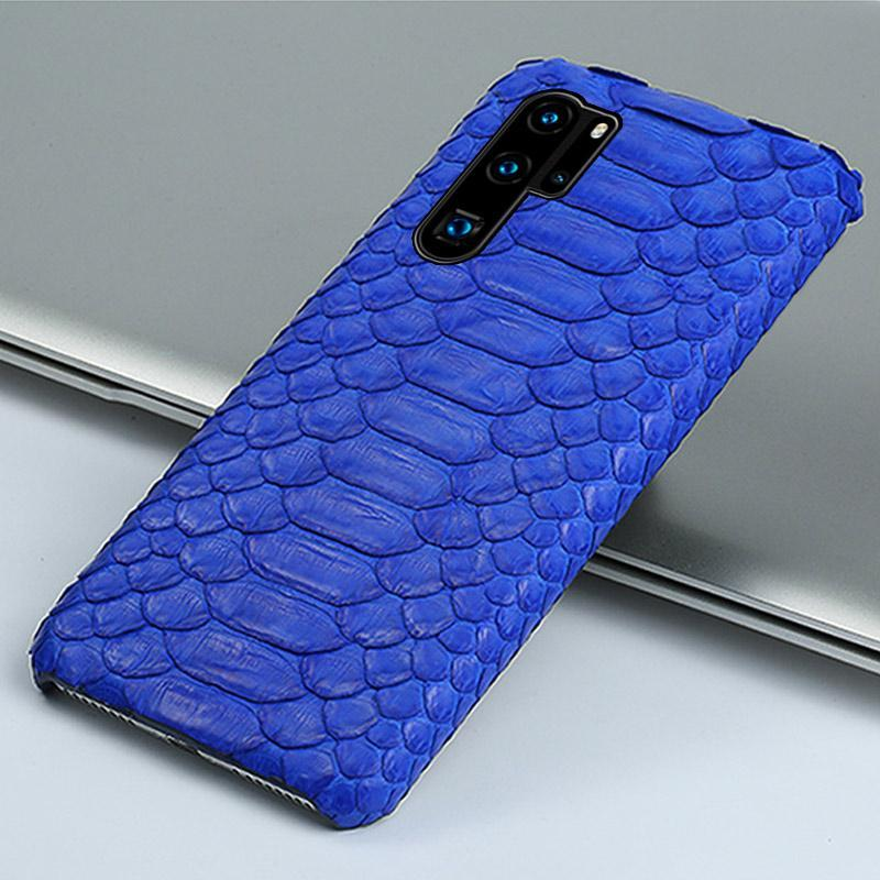 Genuine Python leather Case For Huawei - PhonesFashions