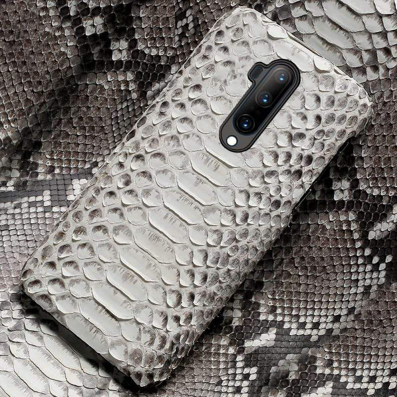 Genuine Python Leather case for OnePlus - PhonesFashions