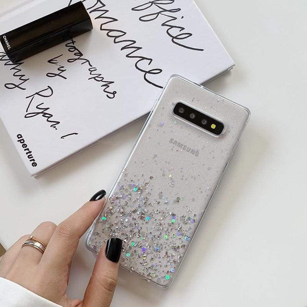 Glitter Bling Sequins Phone Case For Samsung Galaxy - PhonesFashions