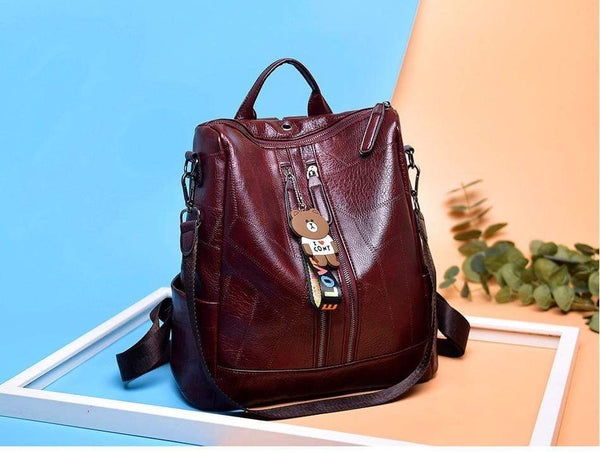 High Quality Leather Backpacks - PhonesFashions