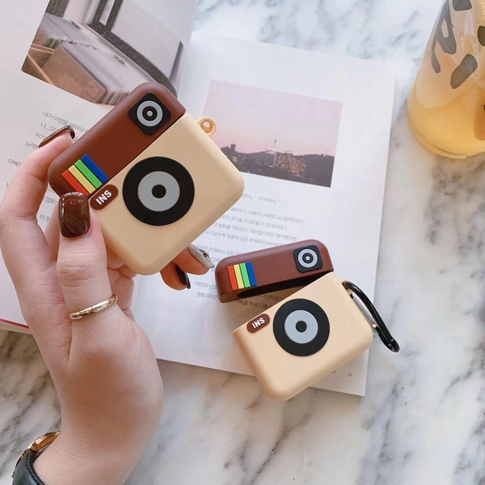 Instagram & Cartoon Shaped 3D Airpods Case - PHONES FASHIONS