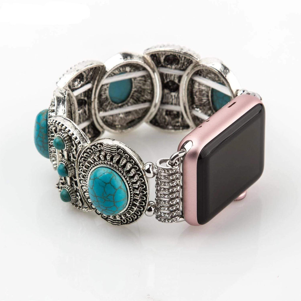 Ladies Metal Bracelet for Apple Watch - PHONES FASHIONS